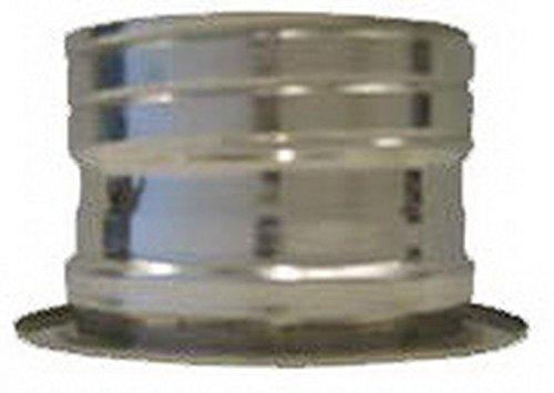 Cheminée en acier inoxydable double paroi Canna Fumeterre Tube Adattatore dp-flex dN 200/250Adattatore dp-flex