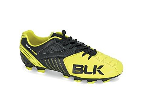 BLK Xgsharp, Chaussures de Rugby Mixte Adulte Noir (Noir/Jaune 01)