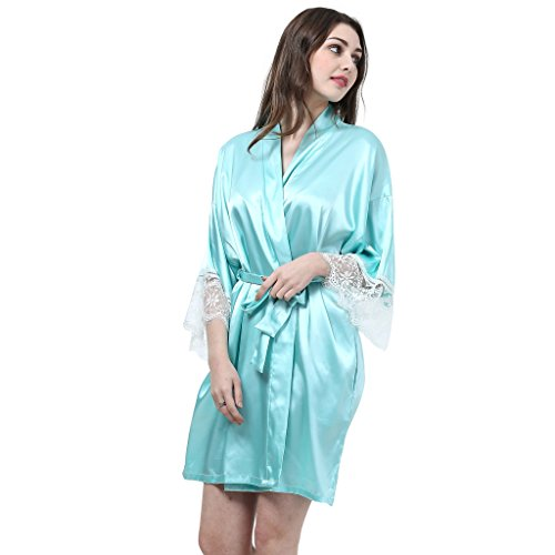 GLHshop Damen Unterkleid Opaque Grün