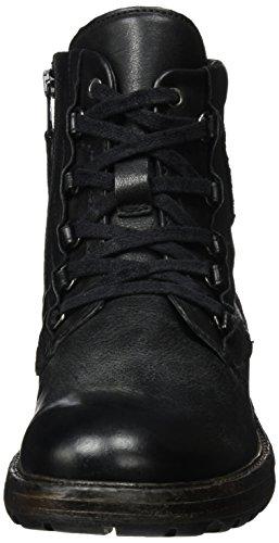 Mjus Herren 377201-0401-0001 Combat Boots Schwarz (Nero+Cacao)