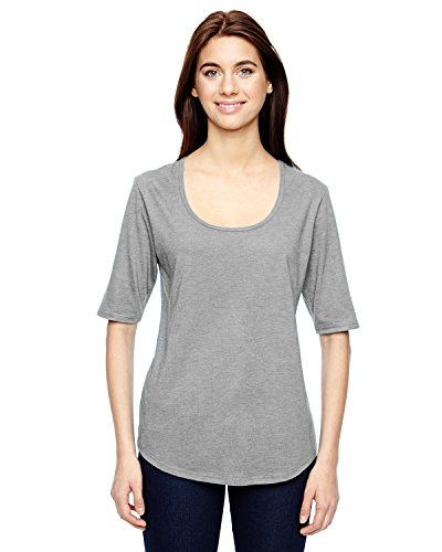 Anvil -  T-shirt - Donna grigio - grigio