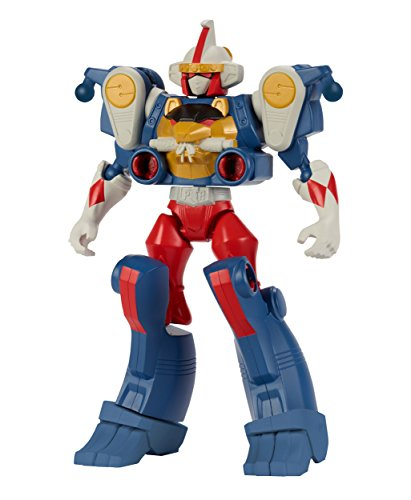Bandai - 43026 - Power Rangers - Duo pack Mixx'N'Morph - Ranger Mighty Morphin + Zord Singe - 16 cm - Rouge