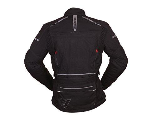 Preisvergleich Produktbild Modeka TACOMA Textiljacke Touring - schwarz Größe 6XL