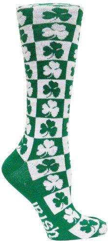Donegal Bay Irland Schachbrett Kleid Socken