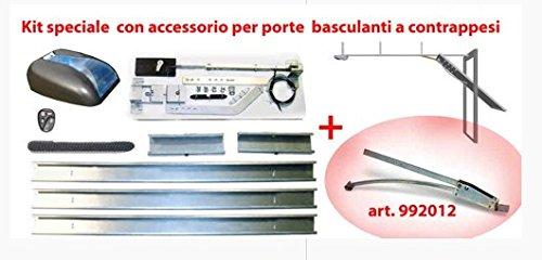 8900 roll + 992012 aprigarage DUCATI a cinghia con accessorio per porte basculanti
