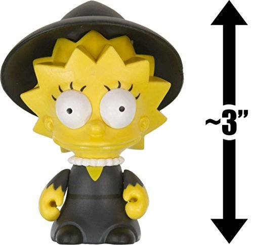 Witch Lisa: ~3 The Simpsons Treehouse of Horror x Kidrobot Mini-Figure Series by The Simpson 1