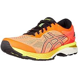 ASICS GEL-Kayano 25, Scarpe da Running, Uomo, Arancione (Shocking Orange/Black 800), 44 EU