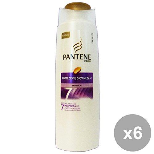 Set 6 PANTENE Shampoo 1-1 Protezione Giovinezza 250 Ml. Prodotti per capelli