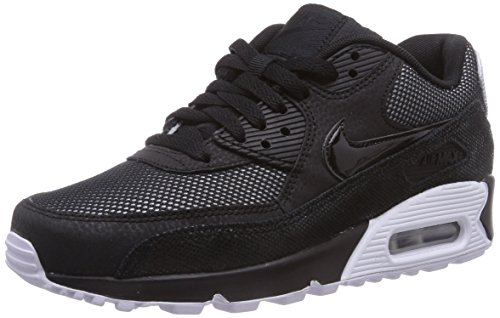 nike-air-max-90-premium-damen-laufschuhe-schwarz-black-white-metallic-silver-005-38-eu-45-damen-uk
