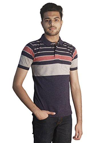Tapasya Indigo Grindle Polo T-Shirt