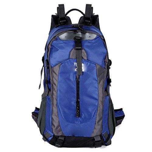 40L Großer Camping Rucksack Wandern Daypack Reise Rucksack Casual Rucksack Tasche,SkyBlue SkyBlue