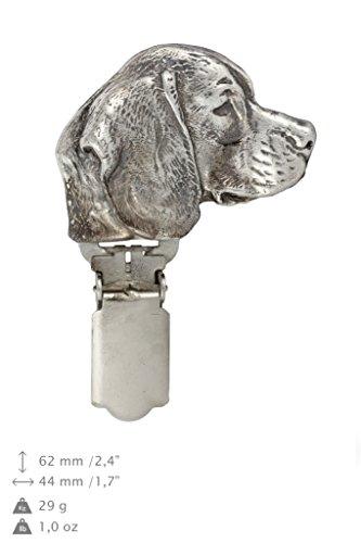 Beagle, Hund, Hund clipring, Hundeausstellung Ringclip/Rufnummerninhaber, limitierte Auflage, Artdog