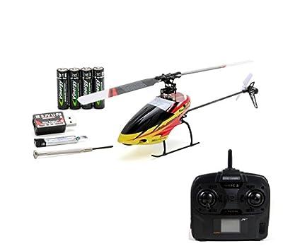 4.5 Kanal Single-Rotor RC ferngesteuerter Hubschrauber mit 2,4GHz-Technik und Gyro-System, Ready-to-Fly, inkl. Akku und Fernsteuerung