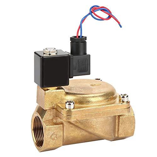 G1-1/4 DC 12V DC 24V AC 110V AC 220V N/C Elektrisches Magnetventil 2-Wege AC220V - 110v Dc-a/c