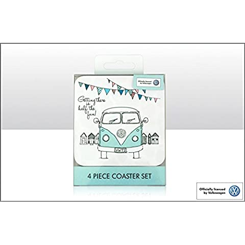 VW Campervan Coasters, Set Of 4