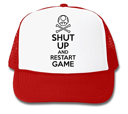 ShutUp and Restart The Game Trucker Cap