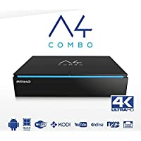 AMIKO A4 COMBO 4K ANDROID (Quad 2GHz 64bit) H265