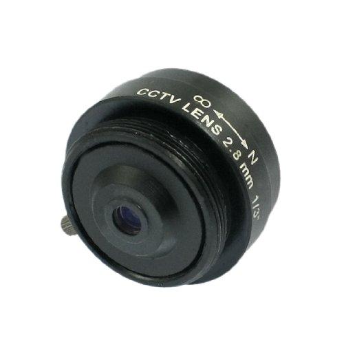 sourcing map Ersatz 2.8mm Fester Blende IR-Objektiv 1/3