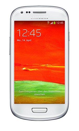 Samsung Galaxy S3 mini GT-I8200N 10,16cm (4 Zoll) Smartphone (AMOLED-Touchscreen, 1,2GHz Dual-Core, 8GB, 5MP, microSD, Android 4.2, OEM) weiß (Wi-fi Direct Headset)