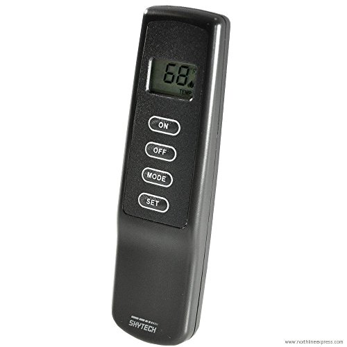 SKYTECH 1001-a Fernbedienung, Thermostat, schwarz, 1 -