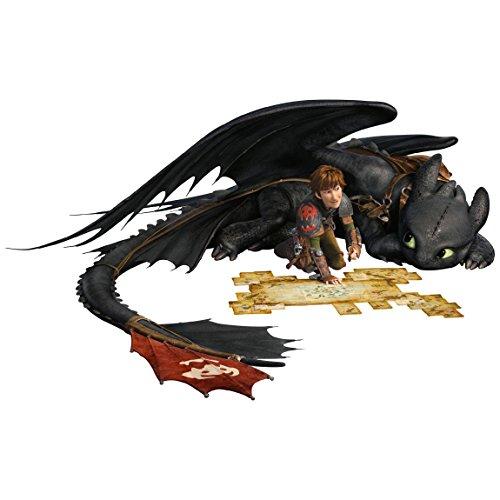 Bilderwelten Adesivo murale Dragons Hiccup And Toothless Plan, tatuaggio...