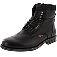 Levis Zapatos de Cuero Levis Para Hombre, Botines con Cuello Emerson, Botas, insercion