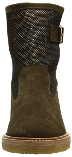 Castaner Kennedia-suede, bottines femme vert (MILITARY)