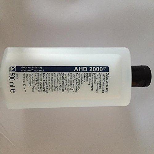 Preisvergleich Produktbild 500 ml AHD 2000 Alkohol Desinfektionsmittel Hand Haud Hände Lösung Mittel
