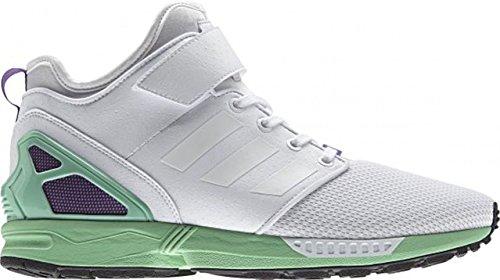 adidas Herren Sneaker ZX Flux NPS Mid grau Weiß