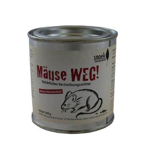 Snoek Mäuse WEG! - Hilfe auf natürliche Weise -