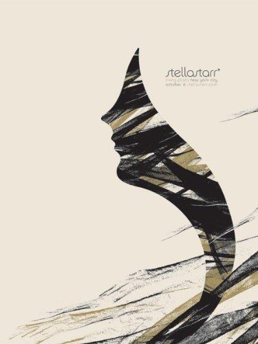 stellastarr * 06/10/05NYC Limited Edition Siebdruck Print Music Poster von kleinen Einsatz Original unterschrieben und nummeriert mit: stellastarr * - Nyc Kleines Poster