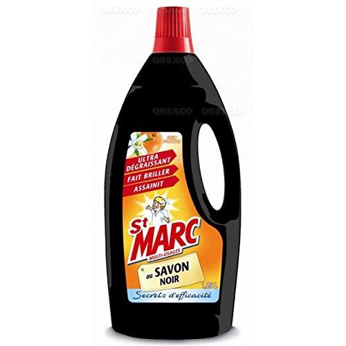 St Marc - Nettoyant ménager au savon noir & fleur d'oranger - 1.25l