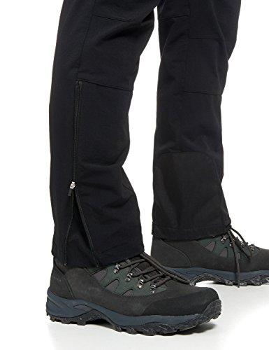Maier Sports 136003 Naturno Pantaloni Sportivi Elastici Uomo Black