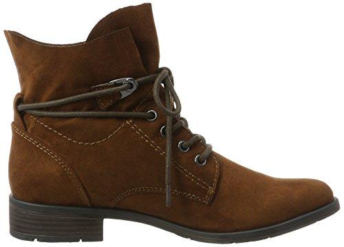 Marco Tozzi Tozzi Boots Marco Chukka Boots 25100 Braun 25100 Cognac Chukka Damen Damen frxSqfg
