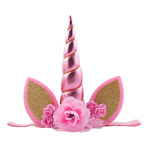 reif Stirnband Mehrfarbig Stirnbänder Halloween Krone (Rosa) (Halloween-stirnbänder)