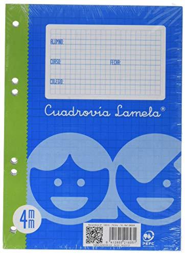 Lamela 8004 - Schreibheft, kariertes Papier 215 x 157.5 mm