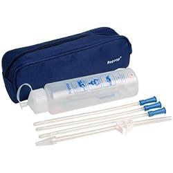 Reprop® Clyster Plus PR102 750ml Darmreinigungs-Set | Praktisches Einlaufset für Darmeinlauf zum selber machen | Einlaufset zur Reinigung des Darms | Komplettes Irrigator-Set für Darmeinlauf | Klistier-Reiseirrigator