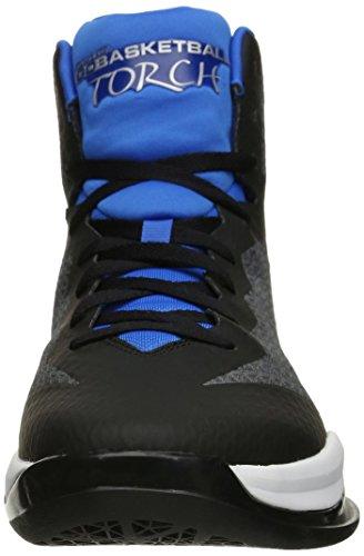 Skechers Leistung Go-Fackel-Basketball-Schuh Charcoal/Blue