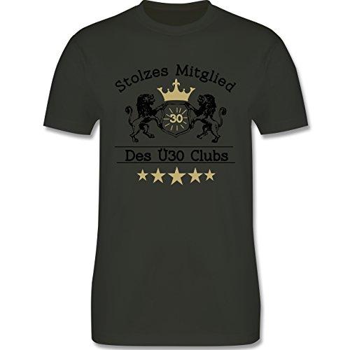 Geburtstag - 30. Geburtstag Stolzes Mitglied des Ü30 Clubs - Herren Premium T-Shirt Army Grün