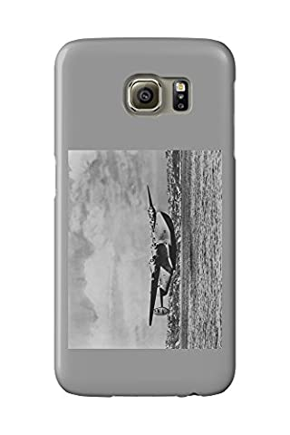 Boeing 314 China Clipper Over Water Airplane Photograph (Galaxy S6 Cell Phone Case, Slim Barely There)