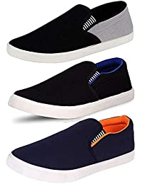 Ethics Perfect Combo Of 3 Loafer Shoes Men