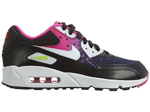 Nike Air Max 90 Prem Mesh (Gs), Chaussures de Running Entrainement Fille Noir