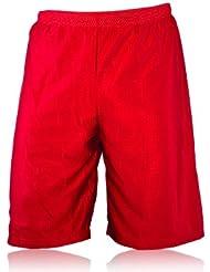 Full Force Wear Mesh Short pour homme Longueur Genou, rouge, Taille S–4x l