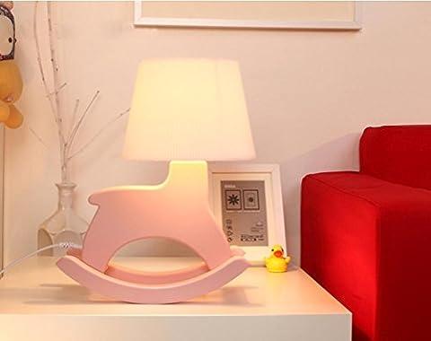 Schaukelpferd Lampe 3D Lampe Lampe Dekoration Mode Schlafzimmer Nachttisch Nachtlicht , pink (Tv Set Kostüm)