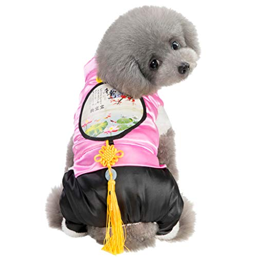 Dog Sheep Kostüm Halloween - Timogee Haustier Hundesweatshirt Hundehemd Hundepullover Warm Winter für Kleine Hunde Malerei Polares Welpen Haustier Katzen Kleidungs Mantel Hundesweatshirt