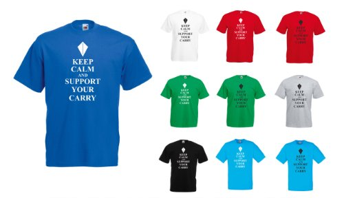 League of Legends – Keep Calm and Support your Carry T-Shirt