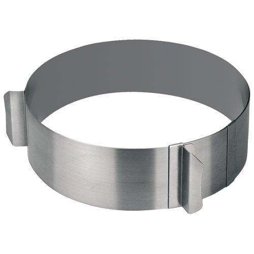 Lacor 68200 Emporte-Pièces Cercle Extensible en Inox 16,30 cm