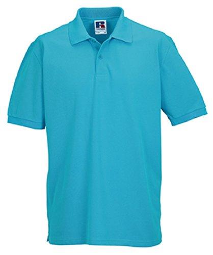 Z569 Men´s Classic Cotton Polo Turquoise