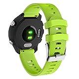 Cobar Forerunner 245/245M Bracelet, Bracelet de Montre Universel de 20 mm pour Garmin...