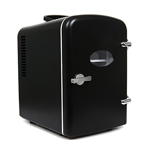 Refrigerador del coche 4L, refrigerador portátil Refrigerador del refrigerador del dormitorio casero...